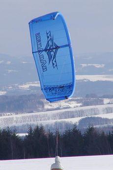 snowkite kite kitesurfing flysurfer