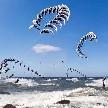 360 stupňů kiteboarding panorama