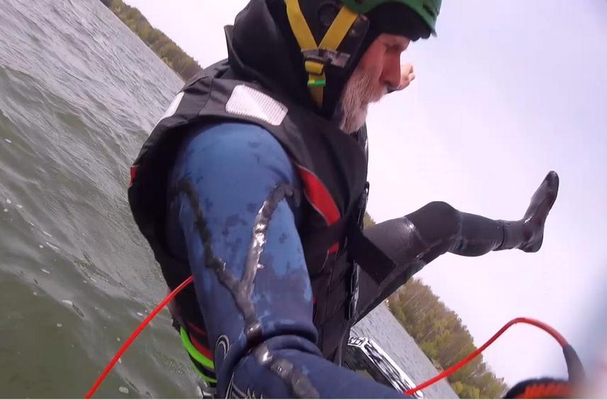 Paddle board - Těrlice a SUPfoiling den čtvrtý