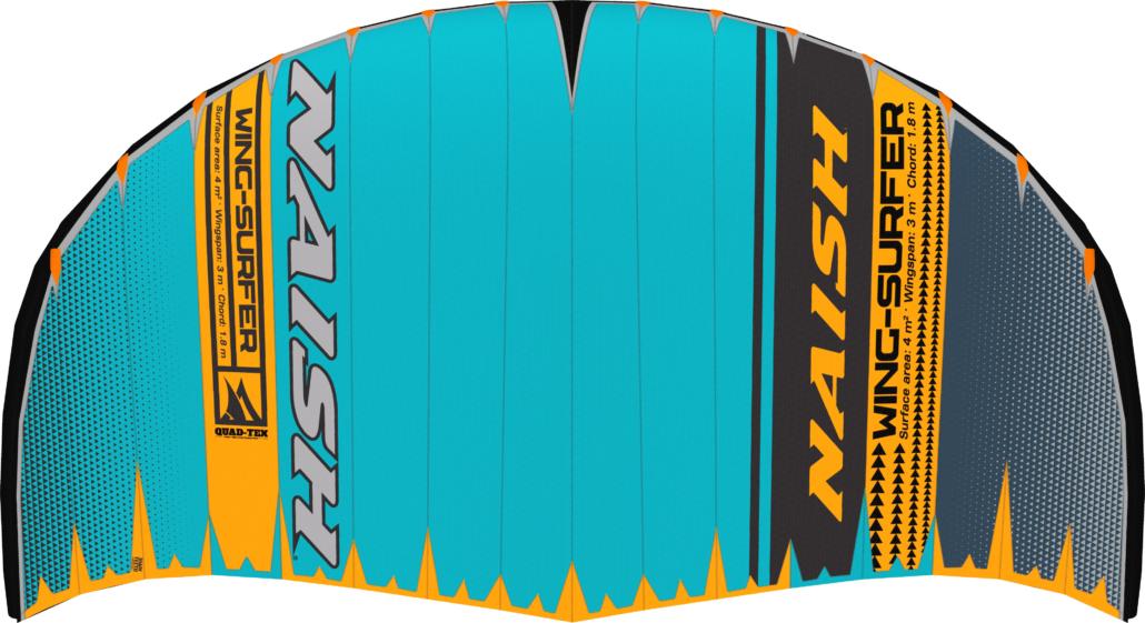 2020 Naish Wing-surfer teal