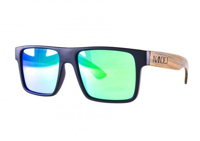 Sluneční brýle NANDEJ NG1 - Black/Green