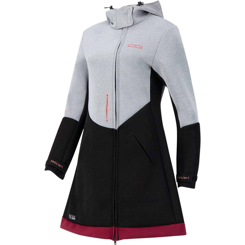 Neoprenová bunda Pure Girl Racer Jacket - Grey/Black - L
