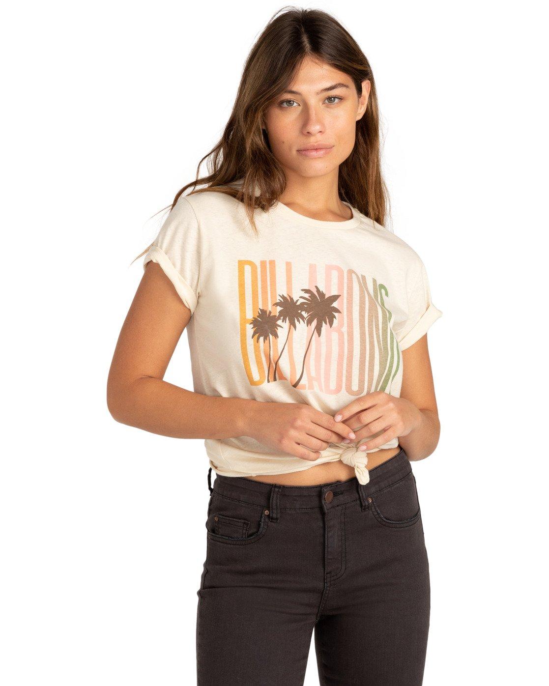 Dámské tričko BILLABONG Total Radness Salt Crystal - XS