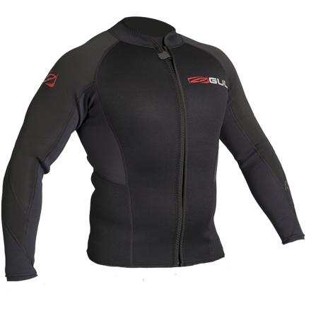 19' GUL Response 3mm Wetsuit Jacket RE6304 - L