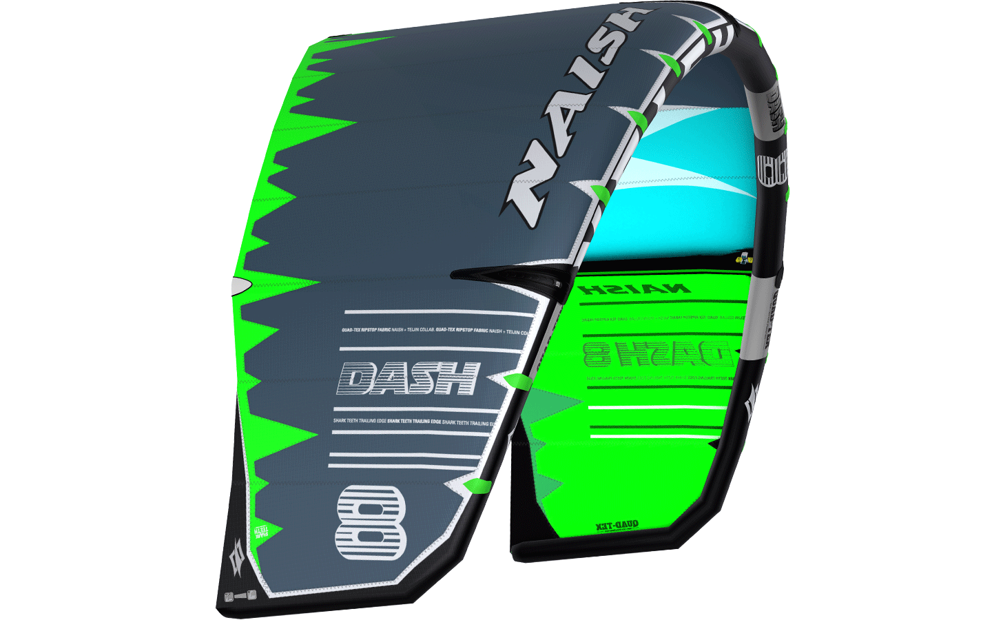 kite 2019/20 NAISH Dash - 8m