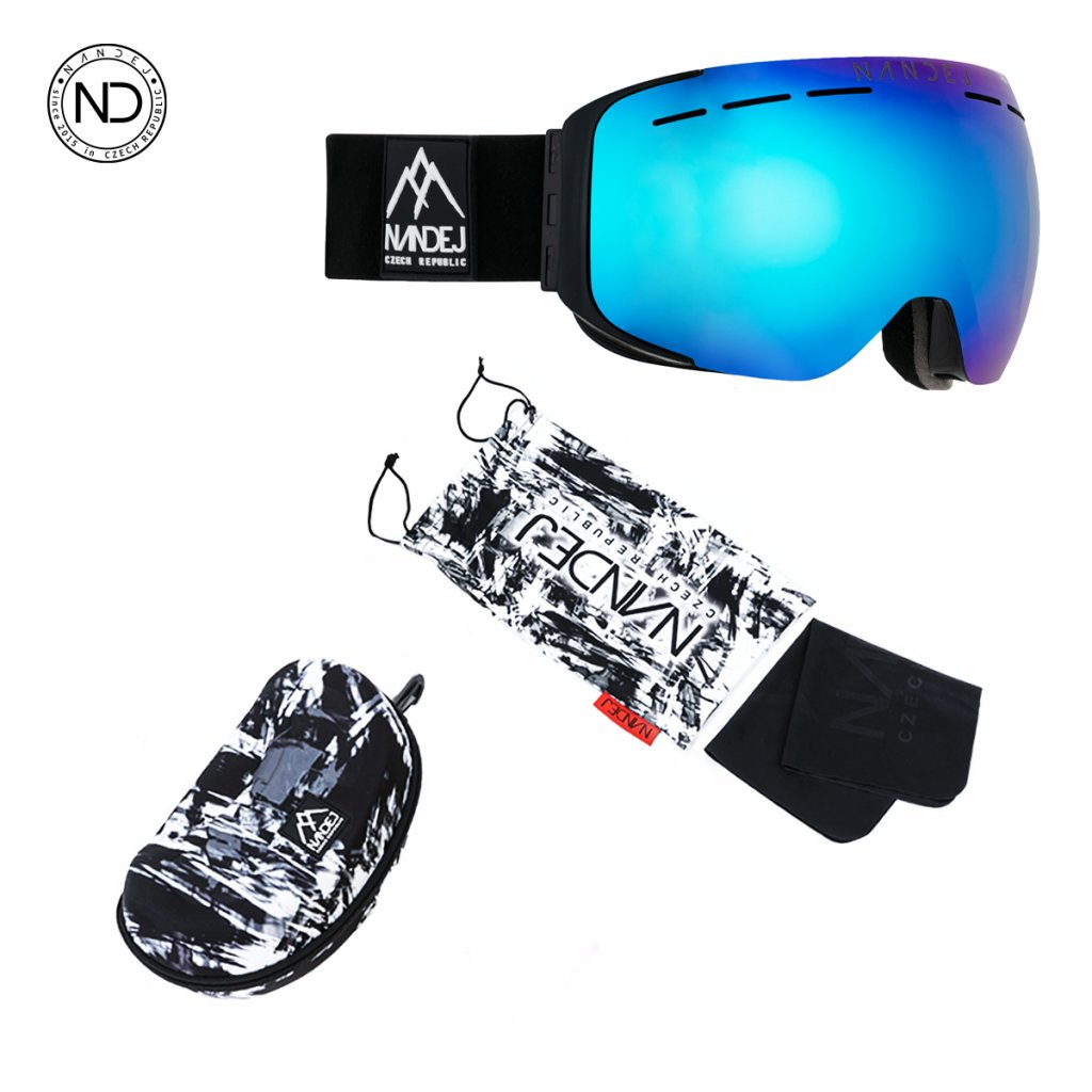 snow brýle 2020/21 Nandej MNG - black iceblue
