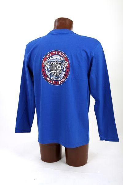 Pánské tričko NAISH 30YRS LOGO - M