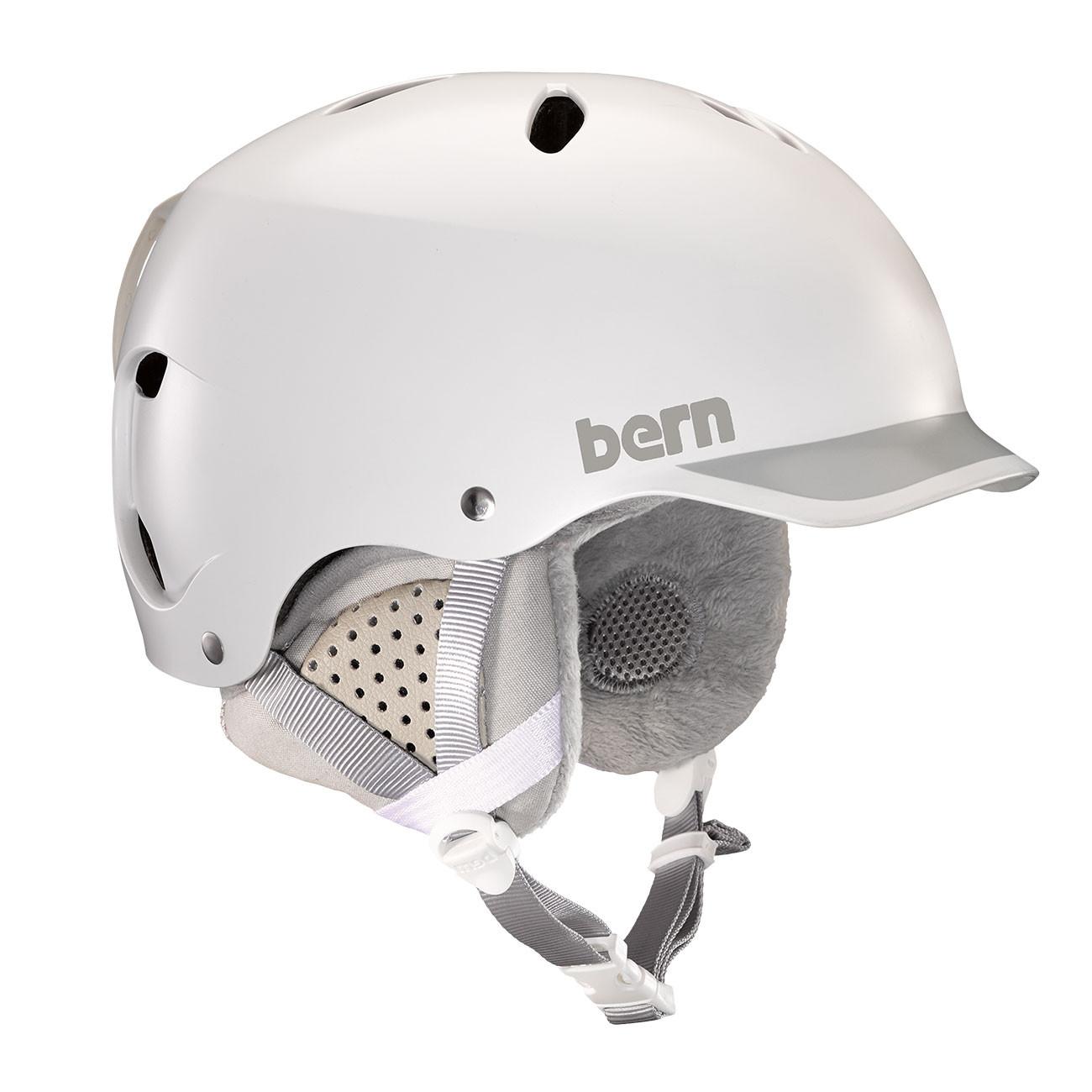 Helma Bern Lenox satin white/grey - M/L
