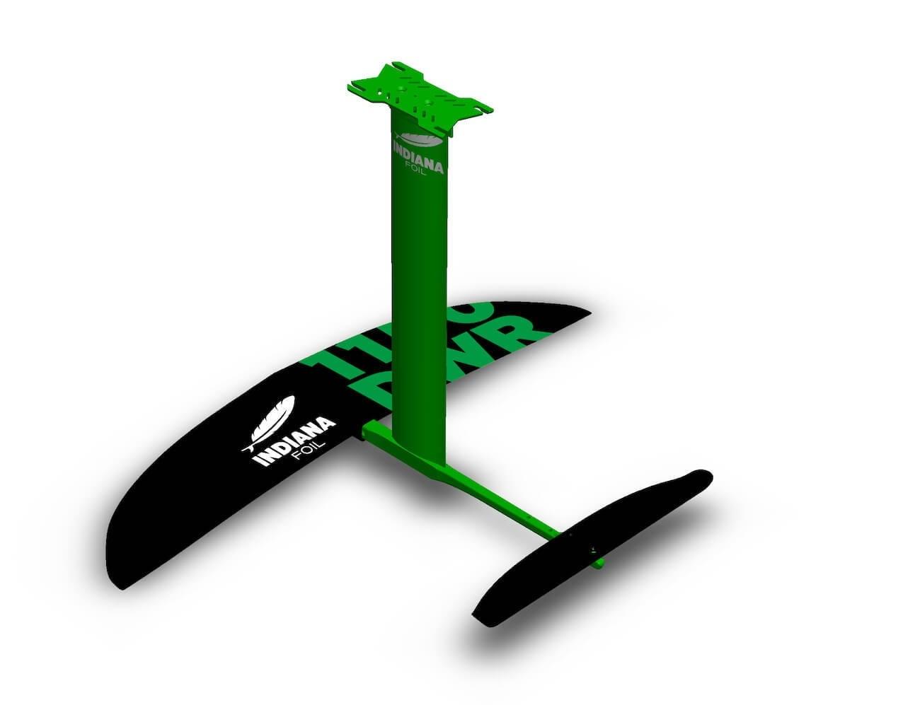 Hydrofoil Indiana Sup/Surf downwind 1150 DWR