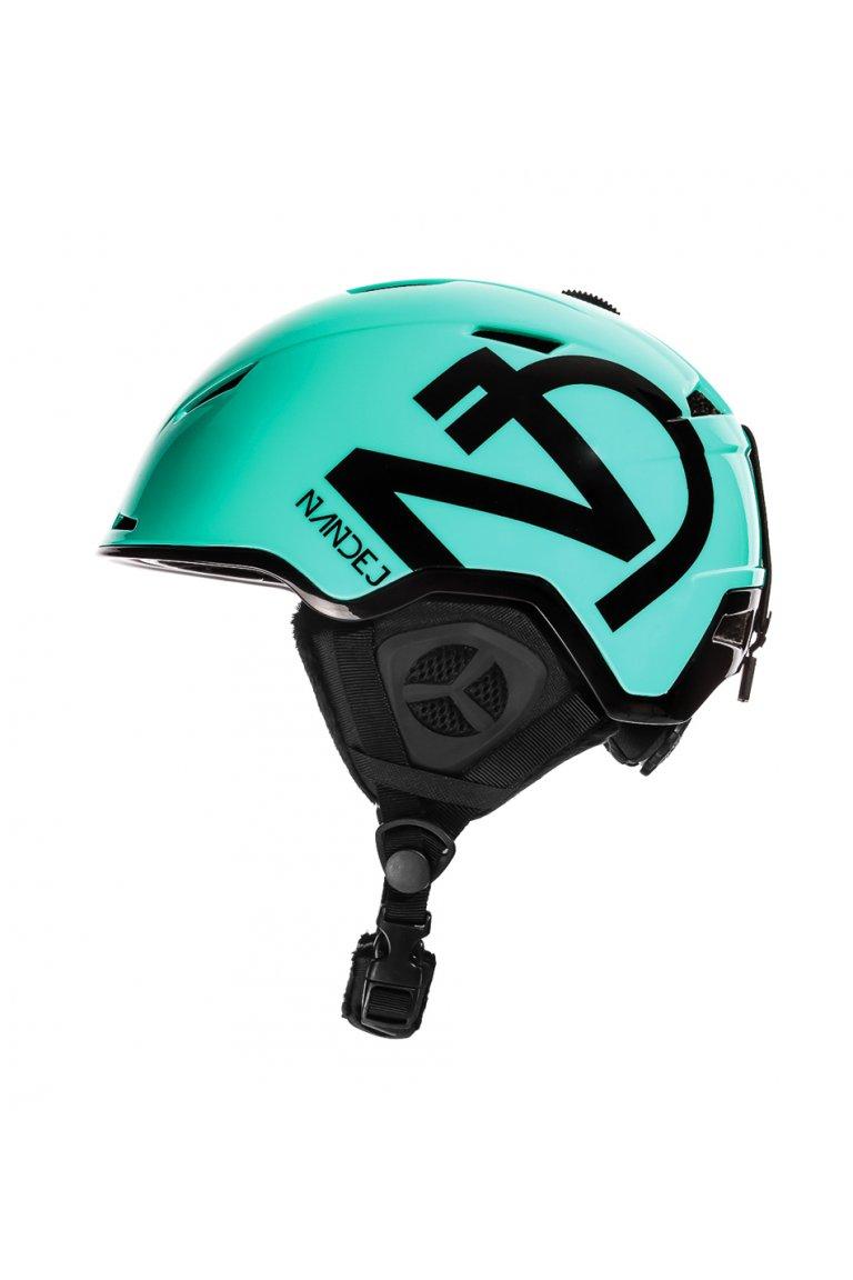 Lyžařská Helma NANDEJ Green - L/XL