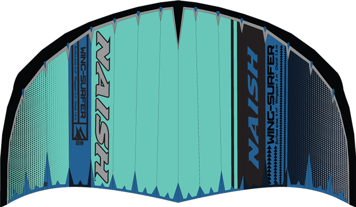 2020 Naish Wing-surfer teal