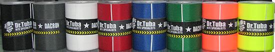 dacron samolepící páska Dr. Tuba - černá