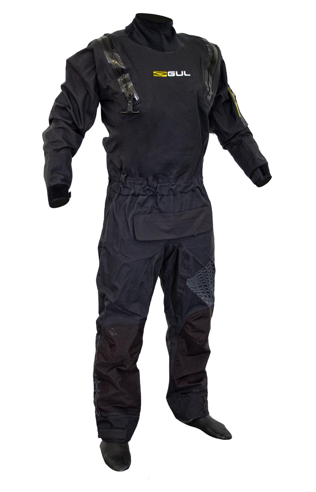 suchý oblek GUL Code Zero Stretch U-Zip DRYSUIT