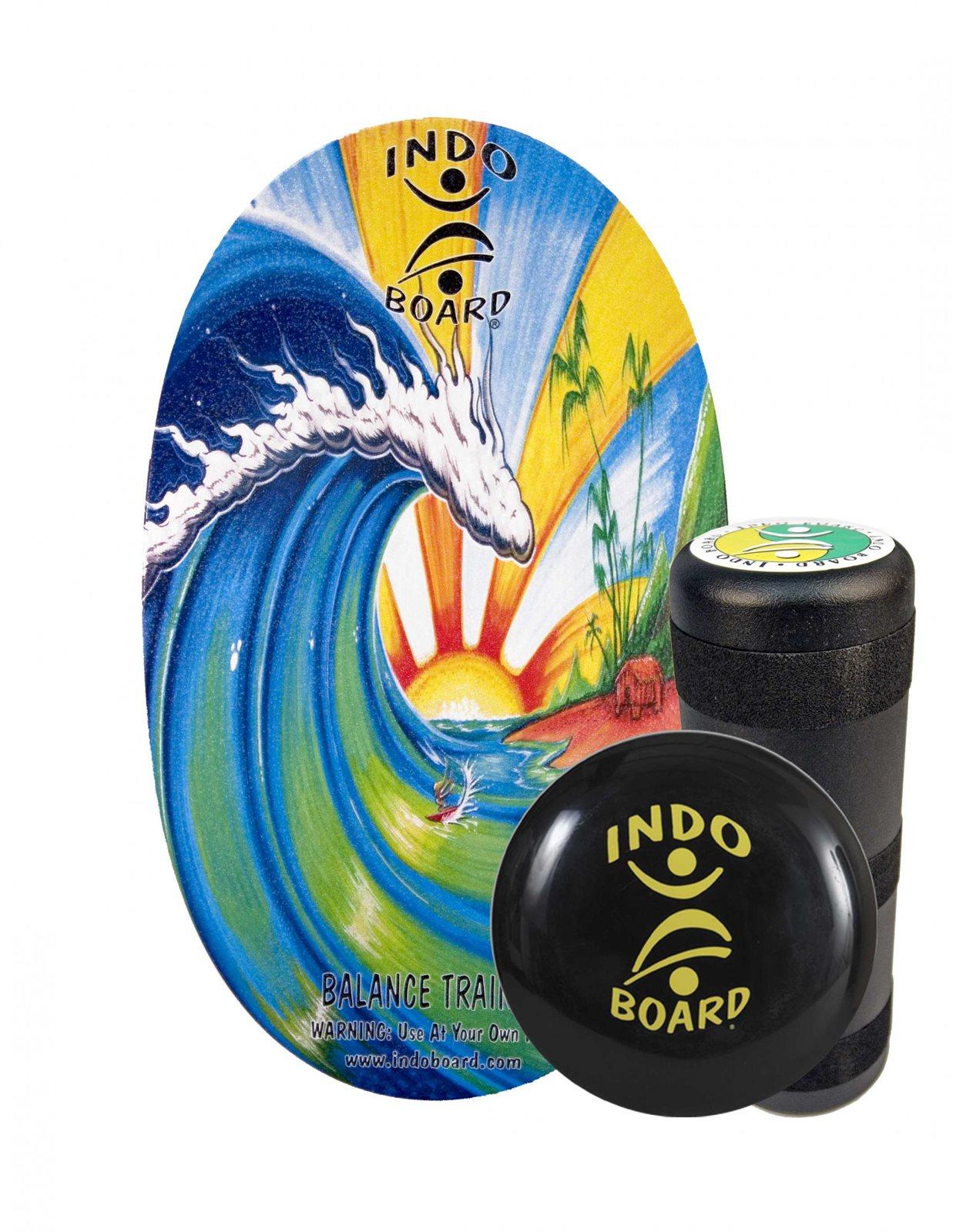 set Indo Board ORIGINAL - Bamboo Beach