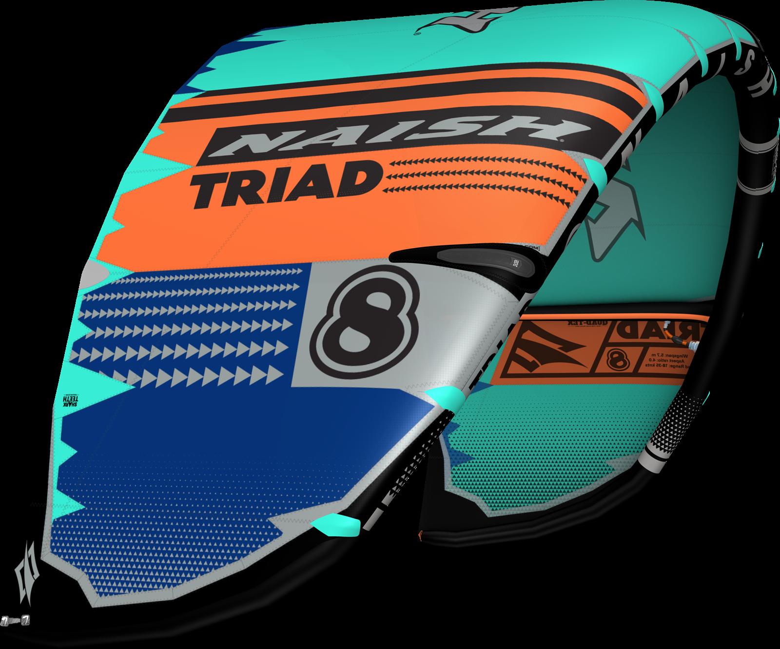kite S25 NAISH Triad - 14m