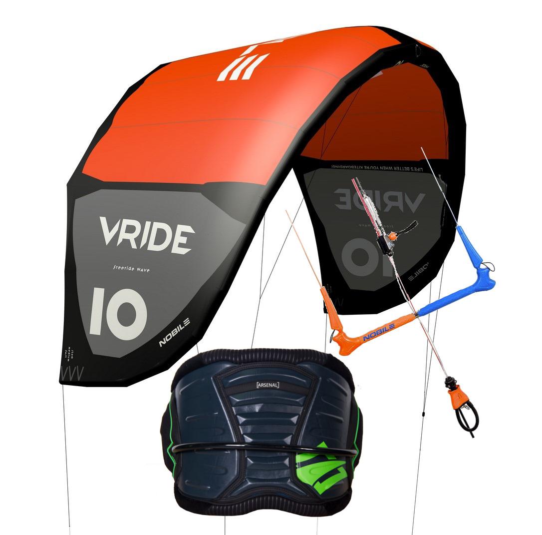 kite 2021 Nobile V-ride 6m + Comforty bar