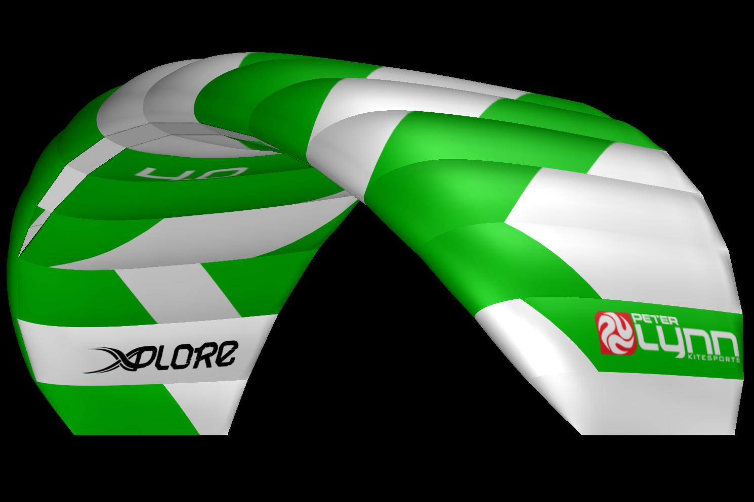 kite set Peter Lynn Xplore 4m2 zelený