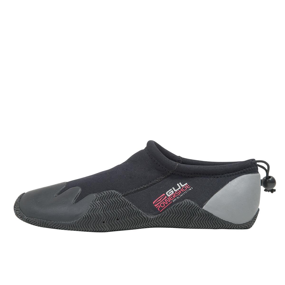 neoprénové boty 3mm GUL POWER SLIPPER - šedá, 5