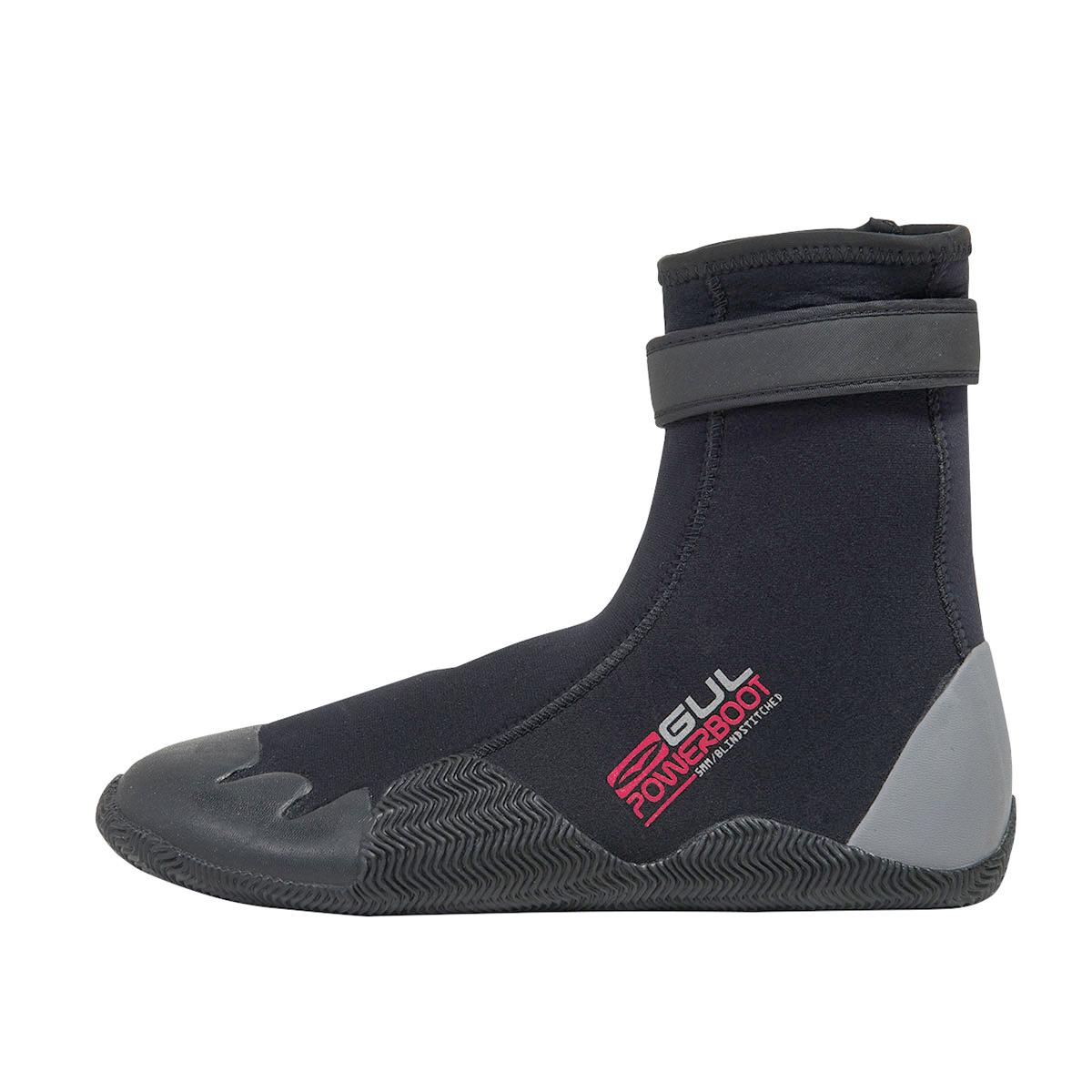 neoprénové boty 5mm GUL Round Toe Power Boot 5