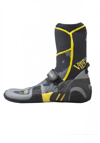 neoprénové boty 5mm GUL VIPER Split Toe žluté 7