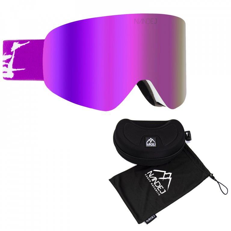 snow brýle 2019/20 Nandej GRF - purple