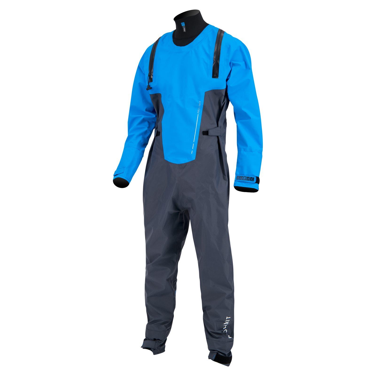 suchý oblek PROLIMIT Nordic Drysuit Steel Blue/Blue - L