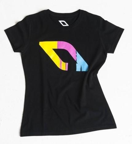 dámské tričko NOBILE Logo paint wmn T-SHIRT L
