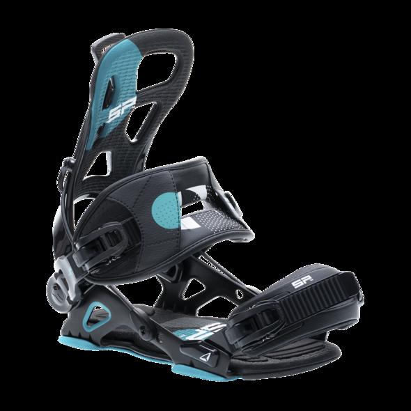 vázaní na snowboard '20/21 SP Brotherhood multientry black - XL