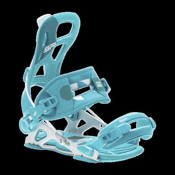 vázaní na snowboard '20/21 SP Brotherhood teal - XL