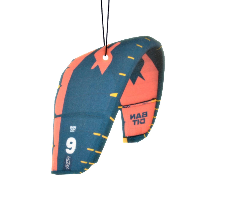 Car Air Freshener kite Bandit - Sunset Beach
