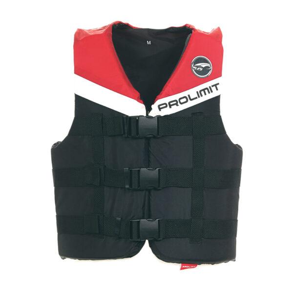 záchranná vesta Prolimit Ski Vest 3-buckle black/red - XXS