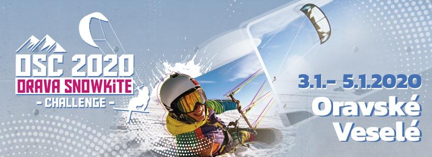 Snowkiting - Orava snowkite challenge
