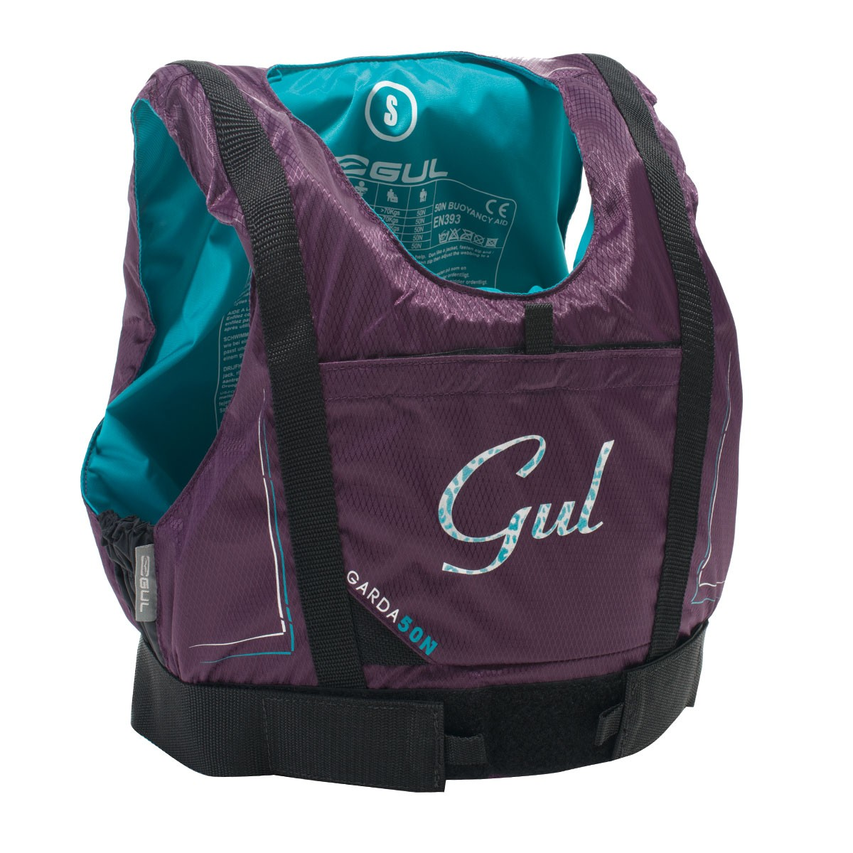dámská záchranná vesta GUL Garda 50N GM0162 fialová M