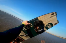 Low Tide at Branny - kiteboarding video