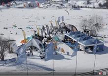 snowkite závody na italském Reschensee 2020