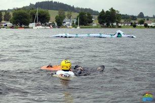 Kite-hydrofoil závody Lipno 20. - 21. června - chvíle bez větru