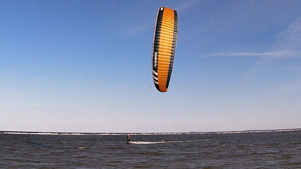 kite Flysurfer Sonic3 11m - poprvé v rukách