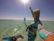Jak se (ne)ztratit na moři - kiteboarding v Egyptě