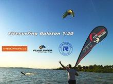 Kitesurfing trip Balaton 7/2020