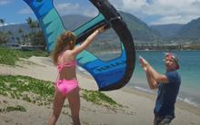 Škola wing surfingu - 2. Jdeme na vodu
