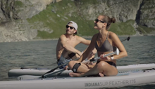 Nejlehčí paddleboard na trhu - Indiana Feather