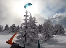 Snowkite crash best of 2019/2020