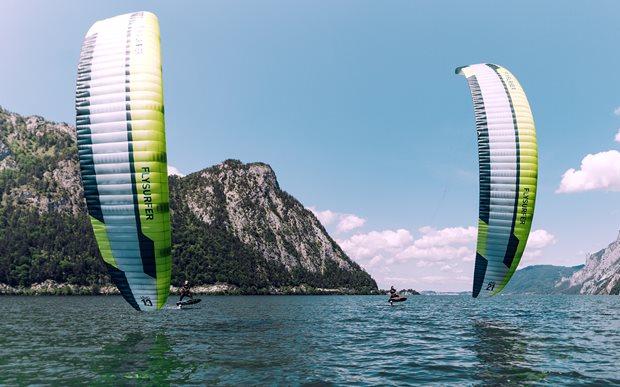 Jaký drak je nejlepší na hydrofoil - uzavřený komorový Flysurfer VMG