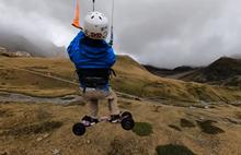 Extreme Kite Landboarding