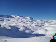 Rakousko Pühringer Hütte - snowkite / skialp spot