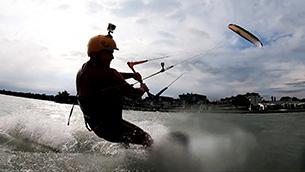 Kitesurfing trip Balaton 7/2020 - Fllysurfer Sonic3