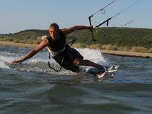 Lefkada kiteboarding spots and accommodation