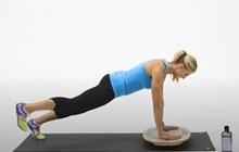 Indoboard trenér - Push Up Planks
