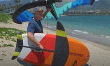 Škola wing surfingu - 1. Základy na břehu