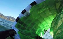Flysurfer Sonic2 - rozbalení na vodě